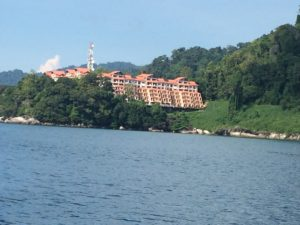 resort on Tioman island with Explorer 50