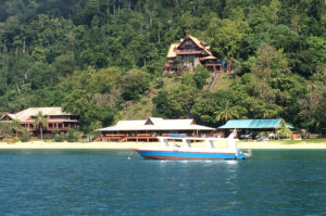 "Tioman island resort from Explorer 50 ""Current Affair"""